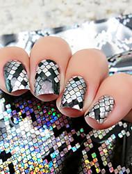 1pcs Стикер искусства ногтя Фольга зачистки ленты макияж Косметические Nail Art Design