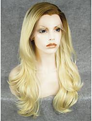 Perruque Dentelle Perruques pour femmes Blond beige Perruques de Costume Perruques de Cosplay