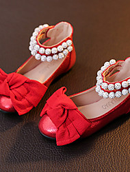 Girl's Flats Ballerina / Round Toe  Casual Flat Heel Black / Red Others