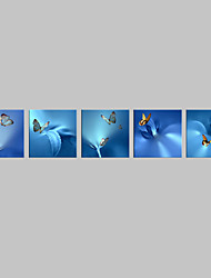 Животное Холст для печати 5 панелей Готовы повесить , Квадратный