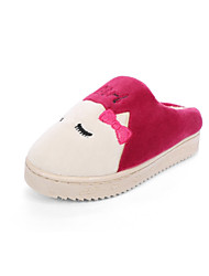 Girl's Slippers & Flip-Flops Fall / Winter Comfort Customized Materials Casual Flat Heel Others Blue / Pink /