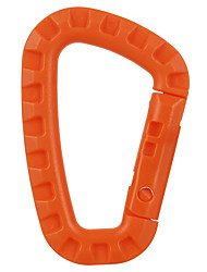 FURA Outdoor Nylon Tacitcal Carabiner Keychain - Orange / Black / Khaki / Army Green