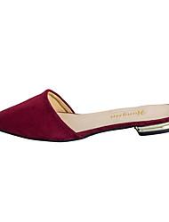 Feminino-Chinelos e flip-flopsRasteiro-Preto Azul Vermelho-Flanelado-Casual