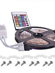 luce flessibile striscia di RGB LED KWB impermeabile con telecomando 12V LED SMD3528 16 colori mutevoli casa dacoration