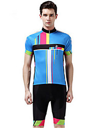 Sports Cycling Jersey with Shorts Unisex Short Sleeve Bike Breathable / Windproof / Wearable / Comfortable / Sunscreen Clothing Sets/Suits