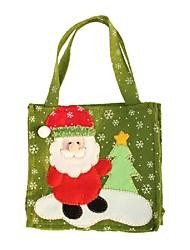 créatif Père Noël bonhomme de neige arbre de noël cadeau de wapitis sacs de mode à la main des sacs-cadeaux de Noël décoration de la