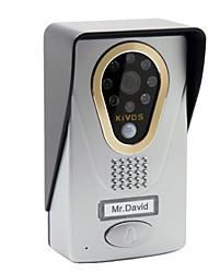 KiVOS KDB400 WiFi Wireless Intelligent Video Intercom Doorbell Mobile APP Monitor Unlock