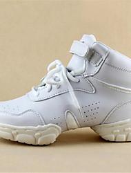 Homme-Extérieure / Décontracté-Blanc-Talon Plat-Bout Fermé-Sneakers-Cuir