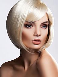 moda desgrenhado personalidade clássicos perucas curto bobo para senhoras eurpean e americanos perruque mulheres sintéticos