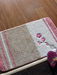 Cotton Embroidered Bedroom Floor Mats Doormat Carpet Mats For Bathroom (40 * 60cm)