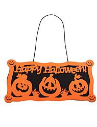 Pour Halloween Orange Tissu non tissé / Flanelle Accessoires de Cosplay Halloween