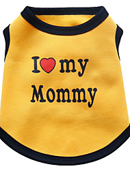 Dog Vest / Vest A variety of colors / Spring And Fall  Floral  / Letter Fashion