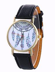 Women's Fashion Analog Stripe Ladies' Christmas Display Strap Bohemia Quartz Wrist Watch