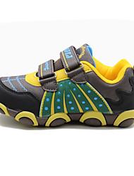 Garçon-Décontracté-Jaune-Talon Plat-Bout Arrondi-Chaussures d'Athlétisme-Polyuréthane