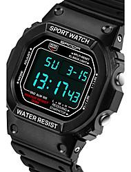 Унисекс Спортивные часы / Армейские часы / Смарт-часы / Модные часы / Наручные часы Цифровой / Японский кварцLED / Секундомер / Защита от