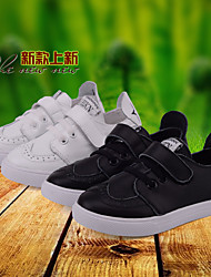Unisex Sneakers Spring / Fall Flats Rubber Outdoor Flat Heel Others Black / White Sneaker
