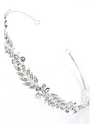 Fashion Rhinestone Leaves Clasp