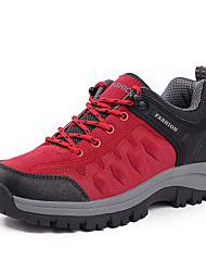 Homme-Extérieure-Marron / Vert / Gris-Talon Plat-Confort / Bout Arrondi-Chaussures d'Athlétisme-Polyuréthane
