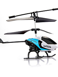 SMtoys S126 Blue 2CH IR RC Remote Radio Control Heli Helicopter Kid Gift