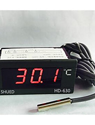 Led Digital Display Meter Thermometer Water Temperature Meter Industrial HD630 Digital Temperature Display