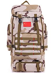 80 L Заплечный рюкзак Походные рюкзаки Организатор путешествий Восхождение Путешествия Отдых и туризмБыстровысыхающий Пригодно для носки