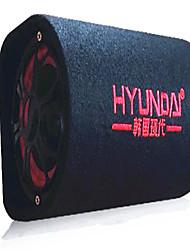 8 polegadas tipo de túnel 12v24v220v carro subwoofer embutido no carro alto-falante externo Bluetooth
