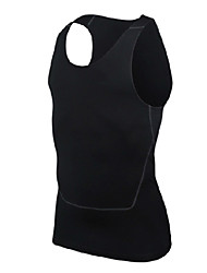 Running Tops Men's Sleeveless Breathable / Soft Polyester Exercise & Fitness / Stretchy SlimOutdoor clothing