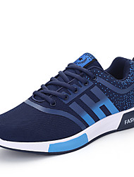 Men's Sneakers Spring / Fall Comfort Outdoor / Athletic / Casual Low Heel Lace-up Black / Blue / Tennis / Walking /