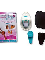Removedor de Pelos Feminino Rosto Corpo Others Bigodes e Barbas pernas Manual N/D Barbeador Seco N/D others