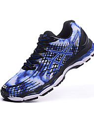 Asics Gel Nimbus 17 Mens Trainers Print Running Sneakers Athletic Shoes Purple