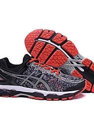 ASICS GEL-KAYANO 22 Marathon Running Shoes Men's Athletic Sport Sneakers Jogging Shoes Dark Gray/Red 40-45