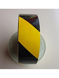 Reflective Material 5cm Reflective Tape Black Yellow Reflective Stickers Reflective Warning Red Reflective Strips