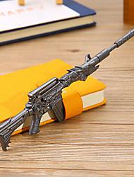12 pcs metralhadora de tinta preta de caneta gel