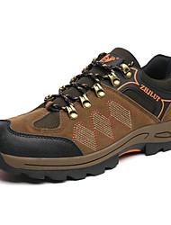 Homme-Extérieure Sport-Marron Gris Vert foncé-Talon Plat-Confort-Chaussures d'Athlétisme-Tulle