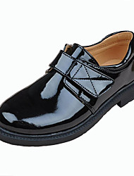 Boy's Comfort Pointed Toe Flat Patent Leather Loafers Shoes Dress shoes Students-shoes school shoes Performance shoes