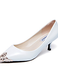 Women's Heels Sequin Pointed Toe Patent Leather Party & Evening / Dress / Casual  Low Heel Stiletto Heels/Pumps