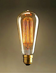 ST64 Edison Retro Light Bulb Lndustrial Revolution Style Light Bulb
