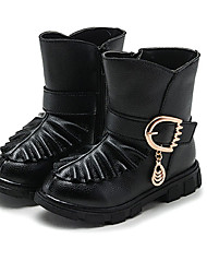 Girl's Boots Spring / Fall / Winter Bootie / Comfort Leather Outdoor / Walking Boots / Casual Boots Sport /