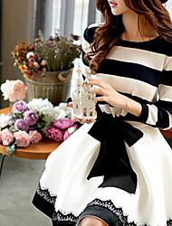 Women's Causal/Work Long SLeeve Pullover ,Knitwear Medium Sweaters