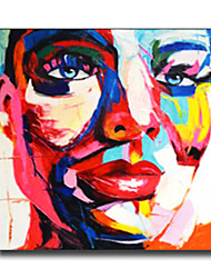 Modern Wall Art Pictures Women People Oil Painting On Linen Home Decoration Abstract Painting With Frame