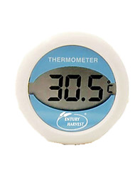 Waterproof With Magnet Sucker Adsorption Refrigerator Thermometer