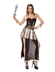 Costumes Movie & TV Theme Costumes Halloween Black Patchwork Terylene Dress / More Accessories