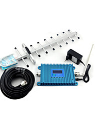 GSM980 Signal Booster 2G GSM 900mhz Mobile Phone Signal Repeater with Yagi Antenna Full Set / LCD Display