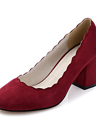 Women's Shoes Chunky Heel Round Toe  Pump More Colors Available