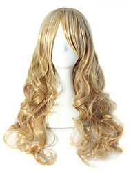 Cinderella Girl Grow Curly Wig Sell Like Hot Cakes The European And American Wind Golden Waves