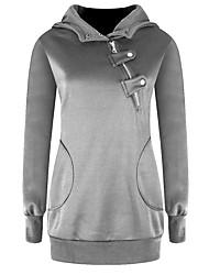 Frauen sowie Größe weiß / schwarz kausalen Pullover, lange Ärmel