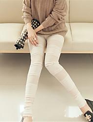 Femme Couture en Dentelle Legging,Polyester