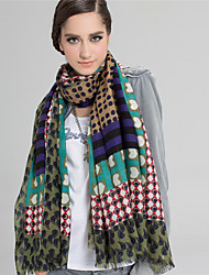 Alyzee  Women Wool ScarfFashionable Jewelry-B5061