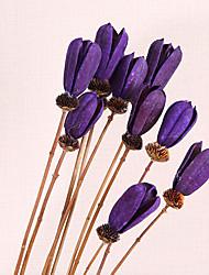 1 1 Ramo Outras Tulipas Flor de Mesa Flores artificiais 31.4inch/80cm