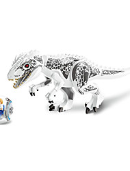 Jurassic World Park Dinosaur Tyrannosaurus Rex Trump 79151 Transparent Ball Minifigures Assembling Building Block Toy